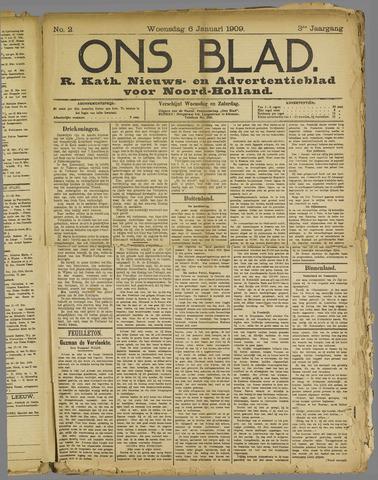 Ons Blad : katholiek nieuwsblad voor N-H 1909-01-06
