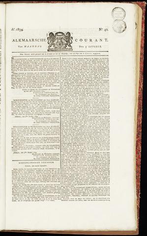 Alkmaarsche Courant 1834-10-06