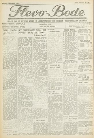 Flevo-bode: nieuwsblad voor Wieringen-Wieringermeer 1948-11-06