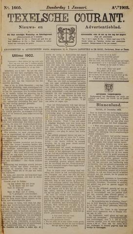 Texelsche Courant 1903