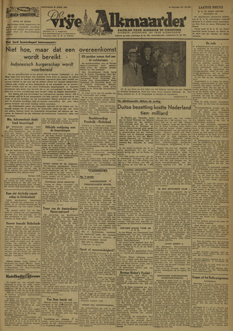 De Vrije Alkmaarder 1946-04-10