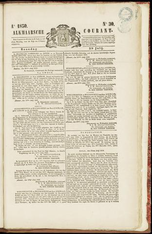 Alkmaarsche Courant 1850-07-29