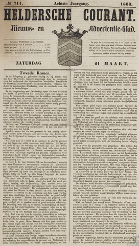 Heldersche Courant 1868-03-21