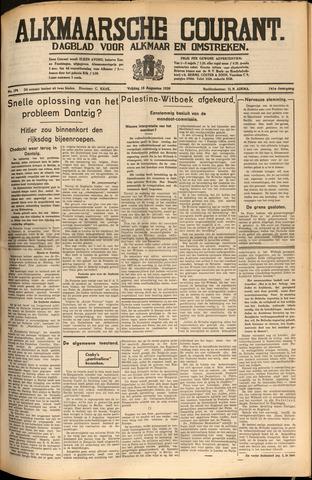 Alkmaarsche Courant 1939-08-18