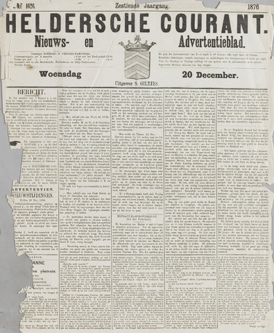 Heldersche Courant 1876-12-20