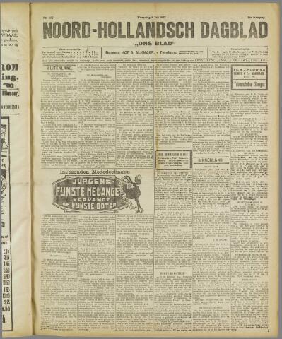Ons Blad : katholiek nieuwsblad voor N-H 1922-07-05