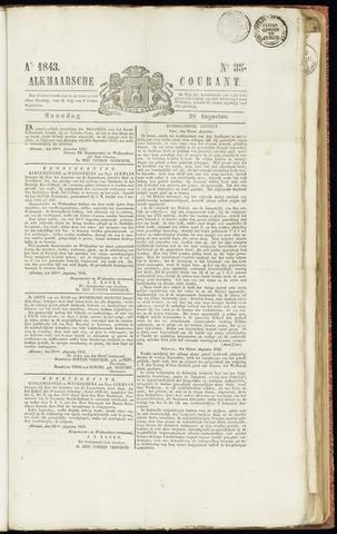 Alkmaarsche Courant 1843-08-28