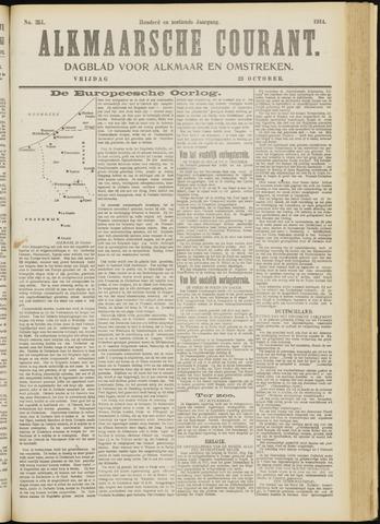 Alkmaarsche Courant 1914-10-23