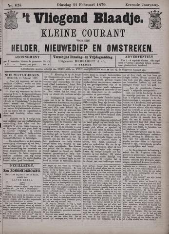 Vliegend blaadje : nieuws- en advertentiebode voor Den Helder 1879-02-11