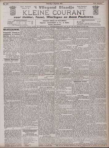 Vliegend blaadje : nieuws- en advertentiebode voor Den Helder 1903-08-01