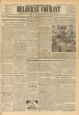 Heldersche Courant 1950-10-04