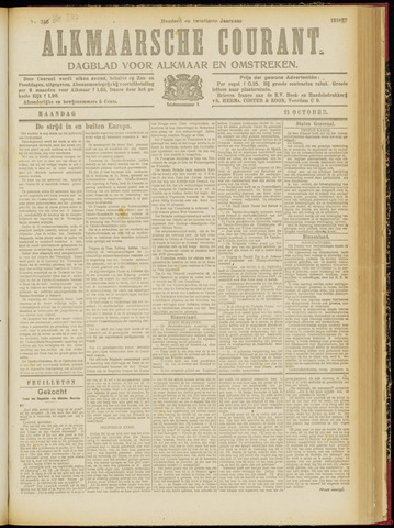 Alkmaarsche Courant 1918-10-21