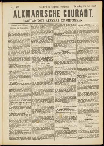 Alkmaarsche Courant 1907-07-13