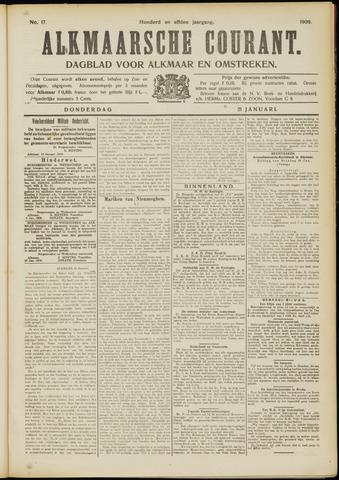 Alkmaarsche Courant 1909-01-21