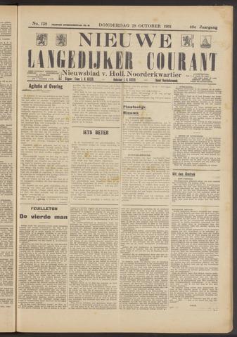 Nieuwe Langedijker Courant 1931-10-29