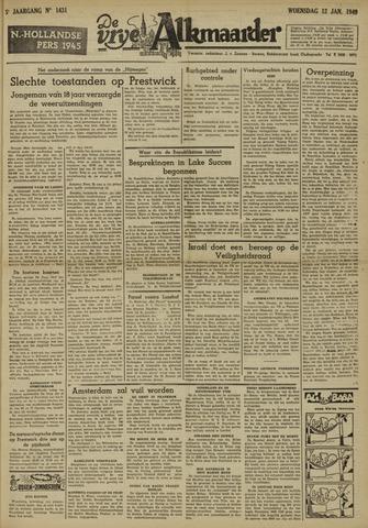De Vrije Alkmaarder 1949-01-12