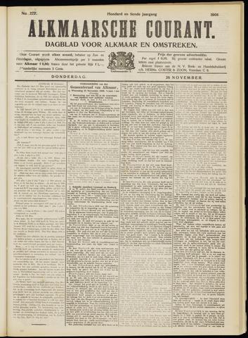 Alkmaarsche Courant 1908-11-26