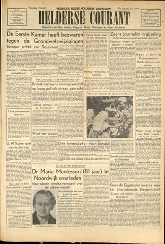 Heldersche Courant 1952-05-07