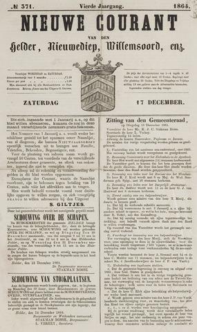 Nieuwe Courant van Den Helder 1864-12-17