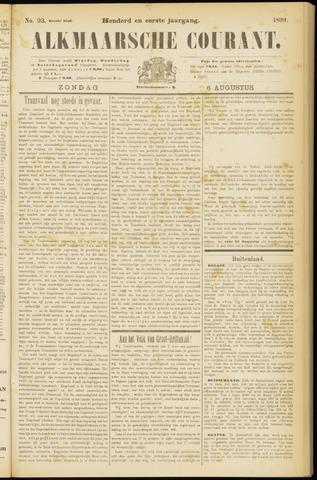 Alkmaarsche Courant 1899-08-06