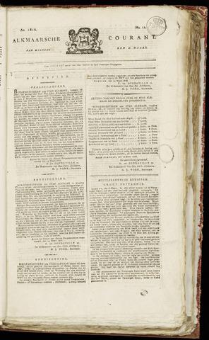 Alkmaarsche Courant 1818-03-16