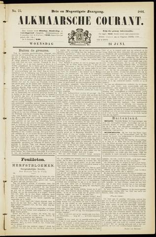 Alkmaarsche Courant 1891-06-24