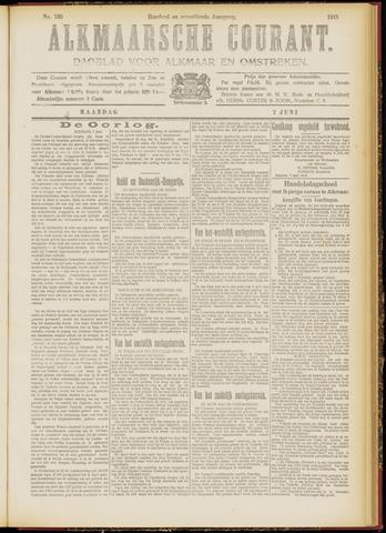 Alkmaarsche Courant 1915-06-07