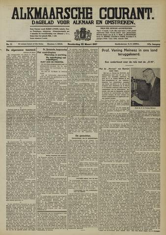 Alkmaarsche Courant 1937-03-25