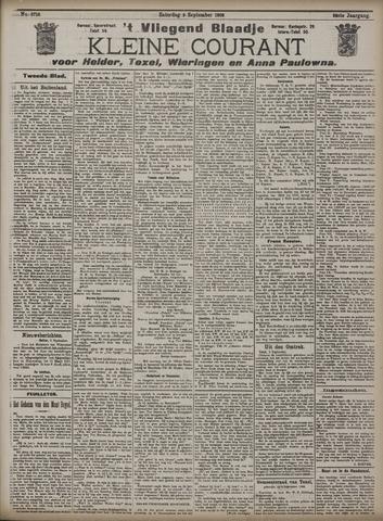 Vliegend blaadje : nieuws- en advertentiebode voor Den Helder 1908-09-05