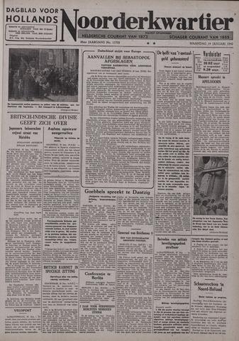 Dagblad voor Hollands Noorderkwartier 1942-01-19
