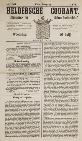 Heldersche Courant 1871-07-26