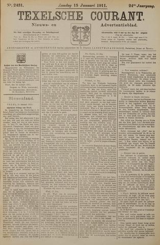 Texelsche Courant 1911-01-15