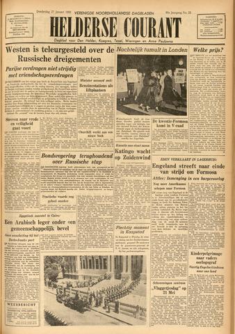 Heldersche Courant 1955-01-27