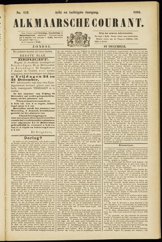 Alkmaarsche Courant 1886-12-19