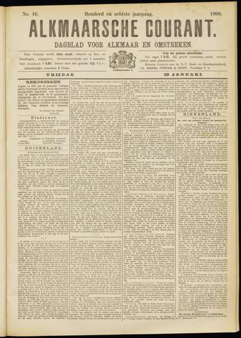 Alkmaarsche Courant 1906-01-19