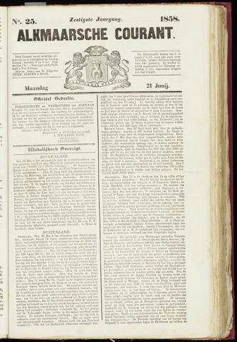 Alkmaarsche Courant 1858-06-21
