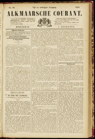 Alkmaarsche Courant 1883-08-01