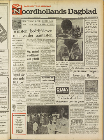 Noordhollands Dagblad : dagblad voor Alkmaar en omgeving 1967-09-21