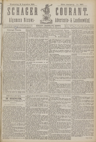 Schager Courant 1920-08-18