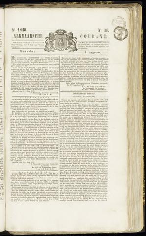 Alkmaarsche Courant 1840-08-03
