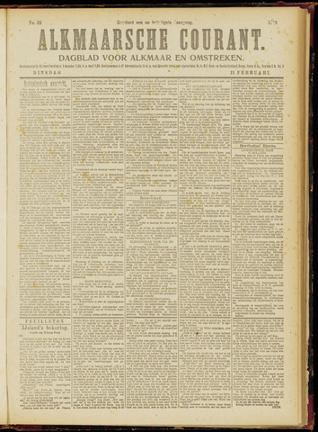Alkmaarsche Courant 1919-02-11