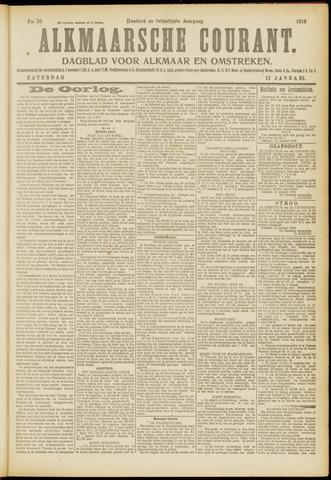 Alkmaarsche Courant 1918-01-12