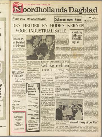 Noordhollands Dagblad : dagblad voor Alkmaar en omgeving 1964-07-03