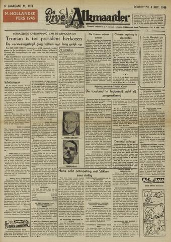 De Vrije Alkmaarder 1948-11-04