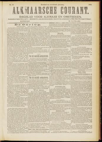 Alkmaarsche Courant 1915-01-26