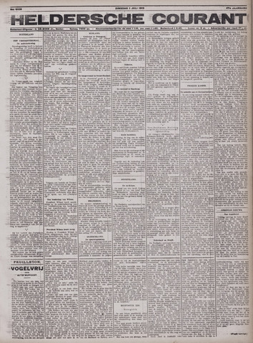 Heldersche Courant 1919-07-01