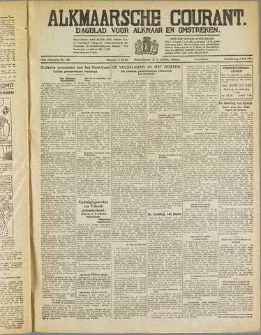 Alkmaarsche Courant 1941-07-03