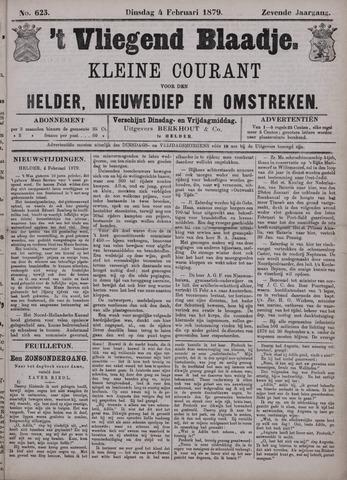 Vliegend blaadje : nieuws- en advertentiebode voor Den Helder 1879-02-04