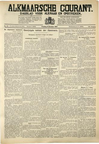 Alkmaarsche Courant 1937-10-15