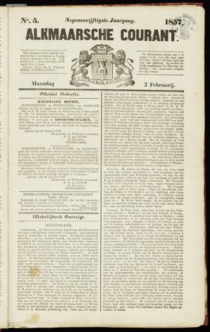 Alkmaarsche Courant 1857-02-02